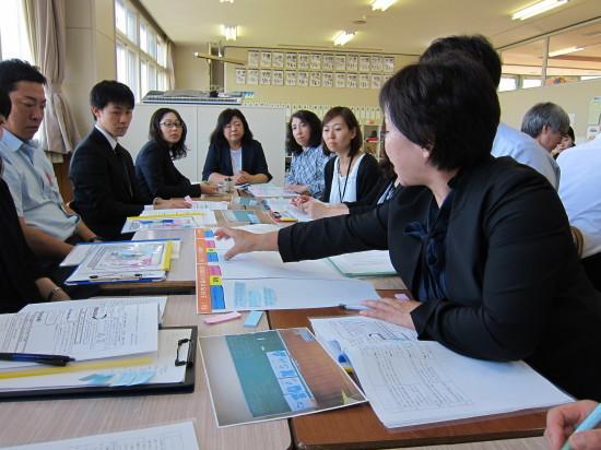 羅臼町一貫教育学習指導法研究大会_d0162600_08294829.jpg