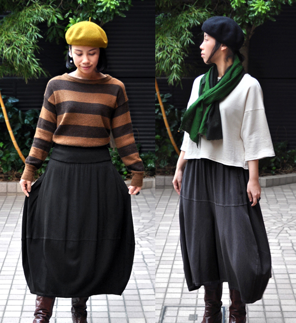 bamboo wool pants & skirt / FACTORY_d0193211_21581815.jpg