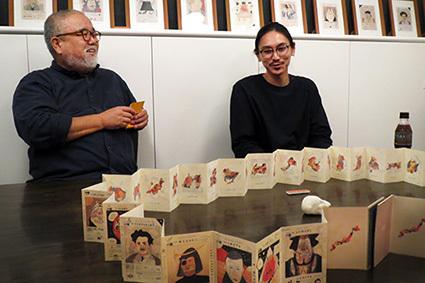 クー・ギャラリー『高栁浩太郎展[47 JAPANTOUR]』でのトークショー_f0165332_23575287.jpg