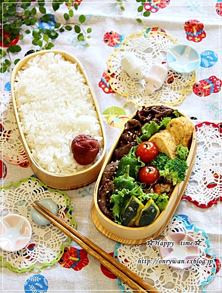 焼肉弁当とクロワッサン♪_f0348032_18050409.jpg