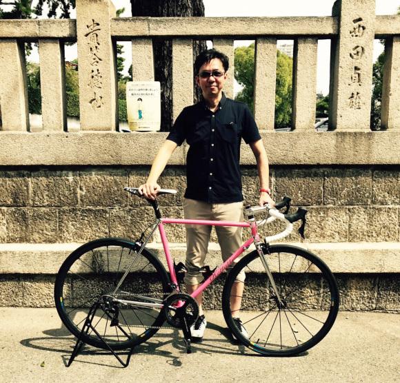 優しそうなピンクのSprintはやんちゃなバイク!!_d0182937_13243103.jpg