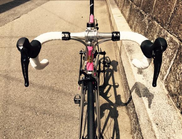 優しそうなピンクのSprintはやんちゃなバイク!!_d0182937_13243419.jpg