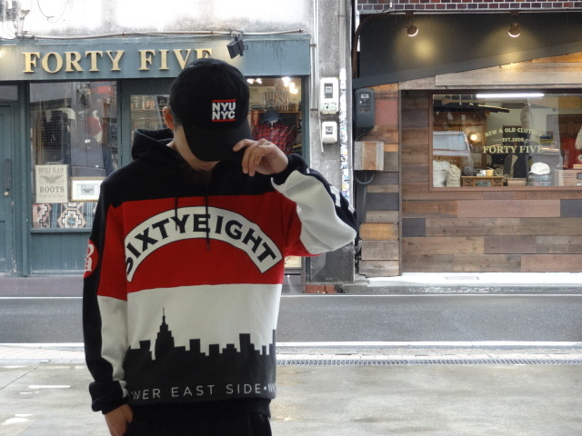 "68&BROTHERS Hood Sweat ""DMC\""!!!_a0221253_14055372.jpg"