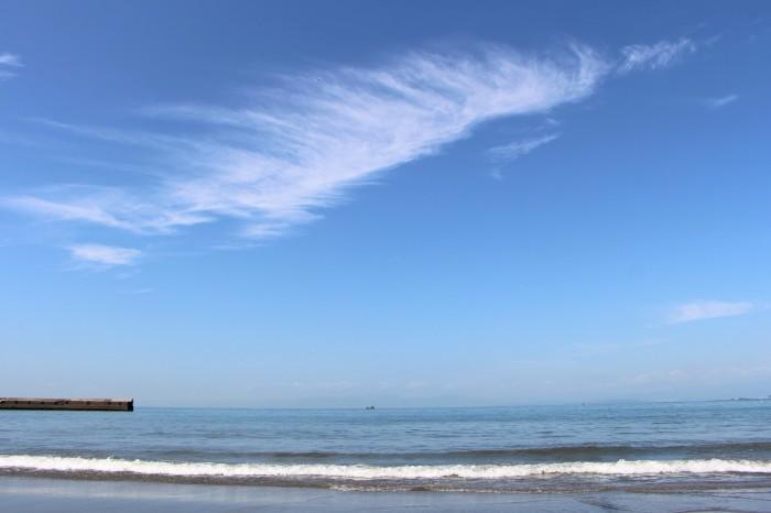 初秋 海原を見に秋谷海岸へ_d0150720_19020328.jpg