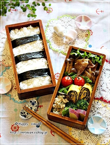 豚の生姜焼き弁当と今週の作りおき♪_f0348032_17563975.jpg