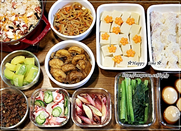 豚の生姜焼き弁当と今週の作りおき♪_f0348032_17570490.jpg