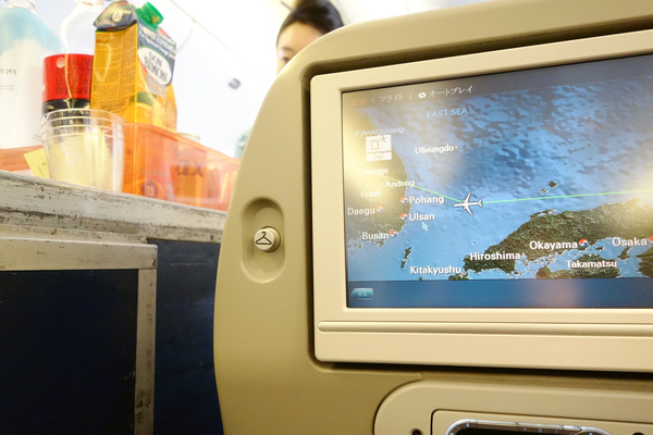 KE2708便と2709便の機内食 サクララウンジとKALラウンジ 2017年8月 ソウルの旅(1)_f0117059_1465354.jpg
