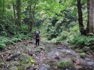旧徳山村コビクラ谷から蕎麦粒山_e0064783_11061105.jpg