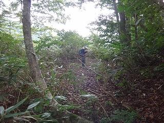 旧徳山村コビクラ谷から蕎麦粒山_e0064783_11064375.jpg