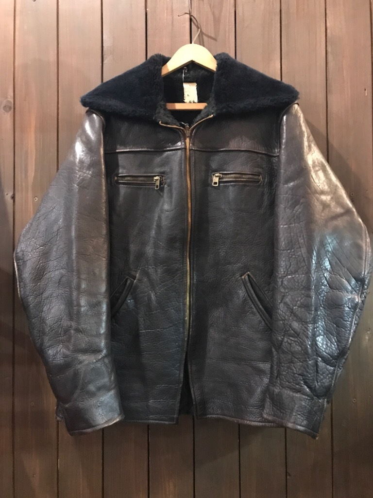 神戸店9/27(水)冬ヴィンテージ入荷! #2 Leather JKT!Mohair Item!!!_c0078587_14283100.jpg