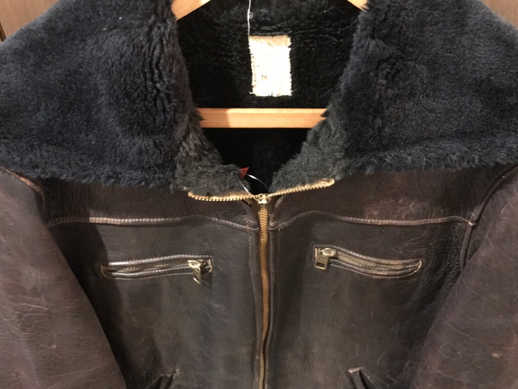 神戸店9/27(水)冬ヴィンテージ入荷! #2 Leather JKT!Mohair Item!!!_c0078587_14283187.jpg