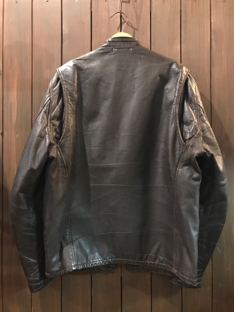 神戸店9/27(水)冬ヴィンテージ入荷! #2 Leather JKT!Mohair Item!!!_c0078587_14552832.jpg
