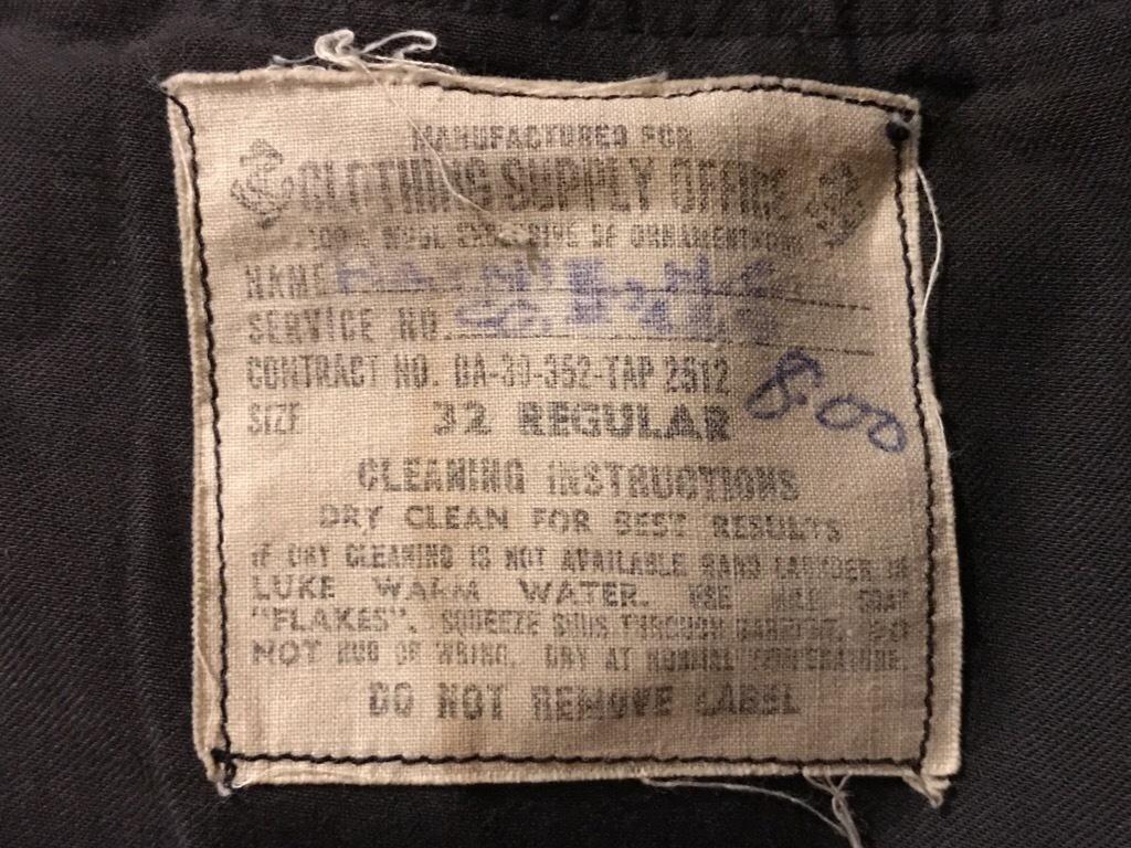 神戸店9/27(水)冬ヴィンテージ入荷! #3  US.Navy Part1!  MidNight Color Wool Item!!!_c0078587_16522543.jpg