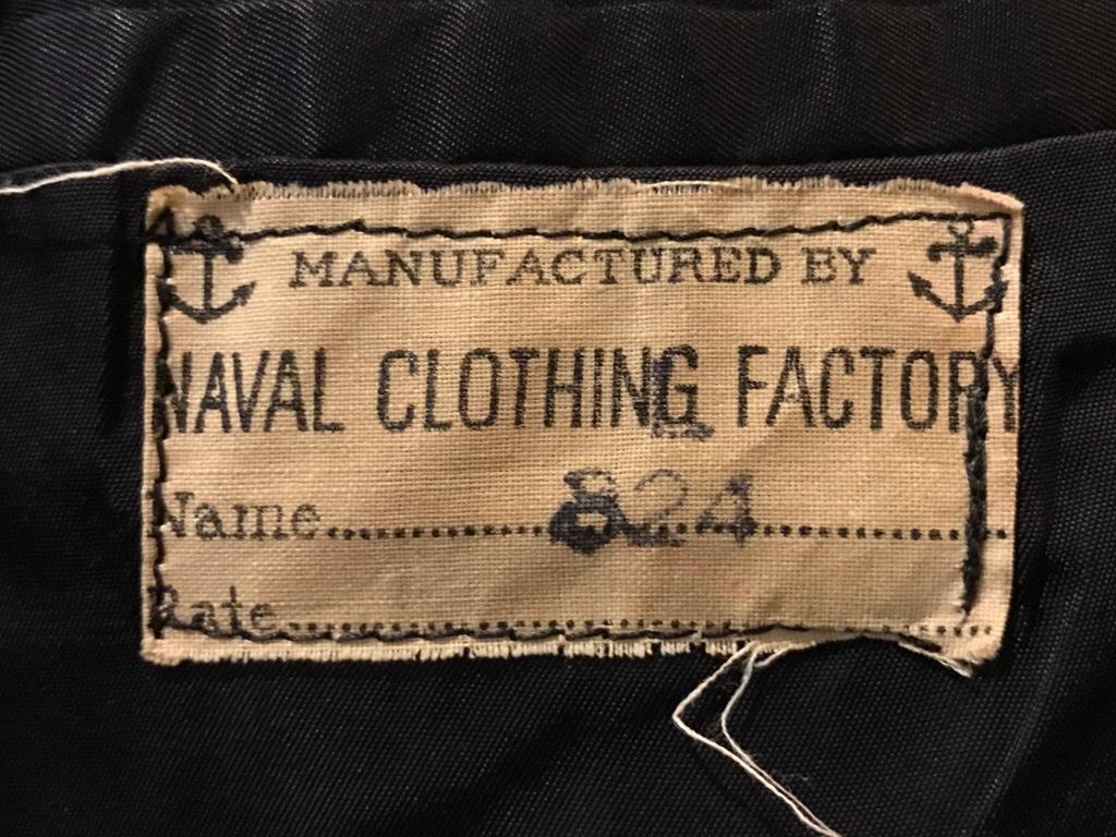 神戸店9/27(水)冬ヴィンテージ入荷! #3  US.Navy Part1!  MidNight Color Wool Item!!!_c0078587_16541000.jpg