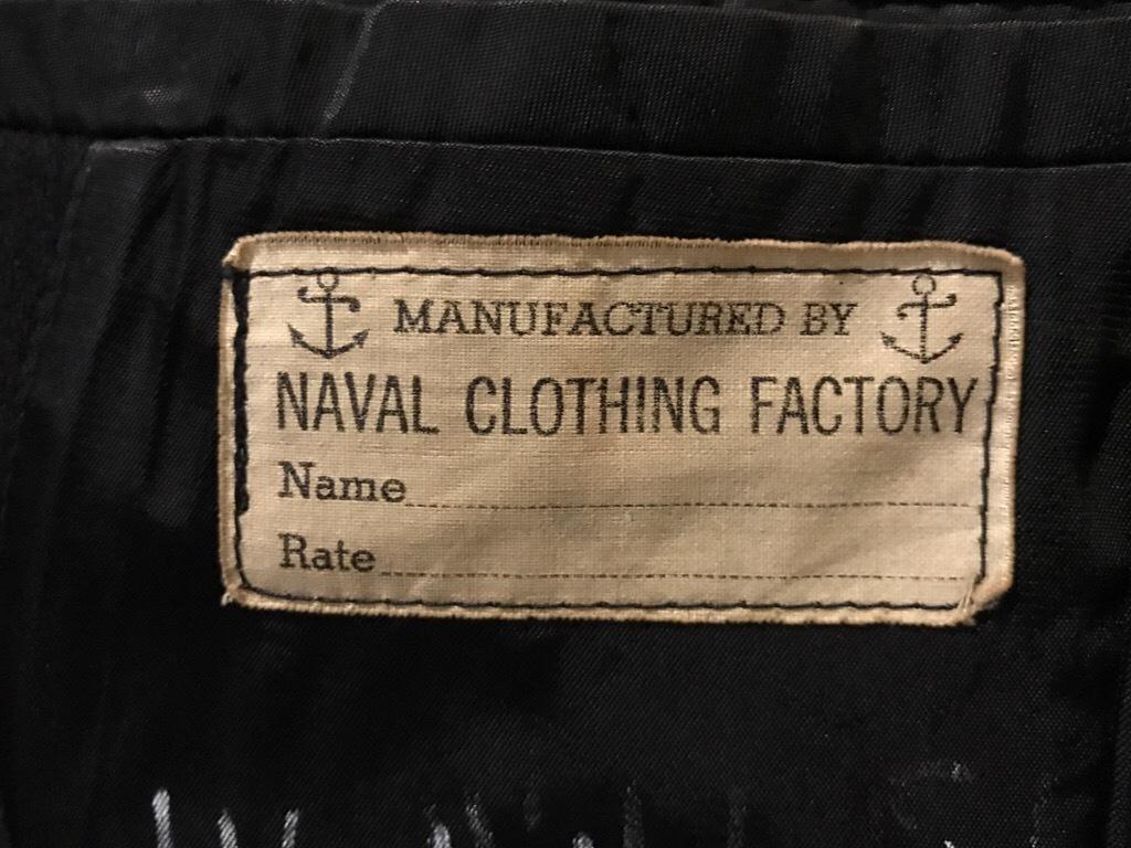神戸店9/27(水)冬ヴィンテージ入荷! #3  US.Navy Part1!  MidNight Color Wool Item!!!_c0078587_16560597.jpg