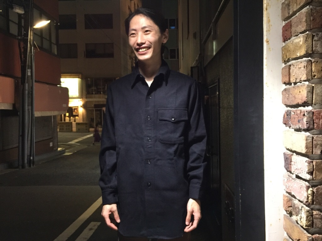 神戸店9/27(水)冬ヴィンテージ入荷! #3  US.Navy Part1!  MidNight Color Wool Item!!!_c0078587_23404471.jpg