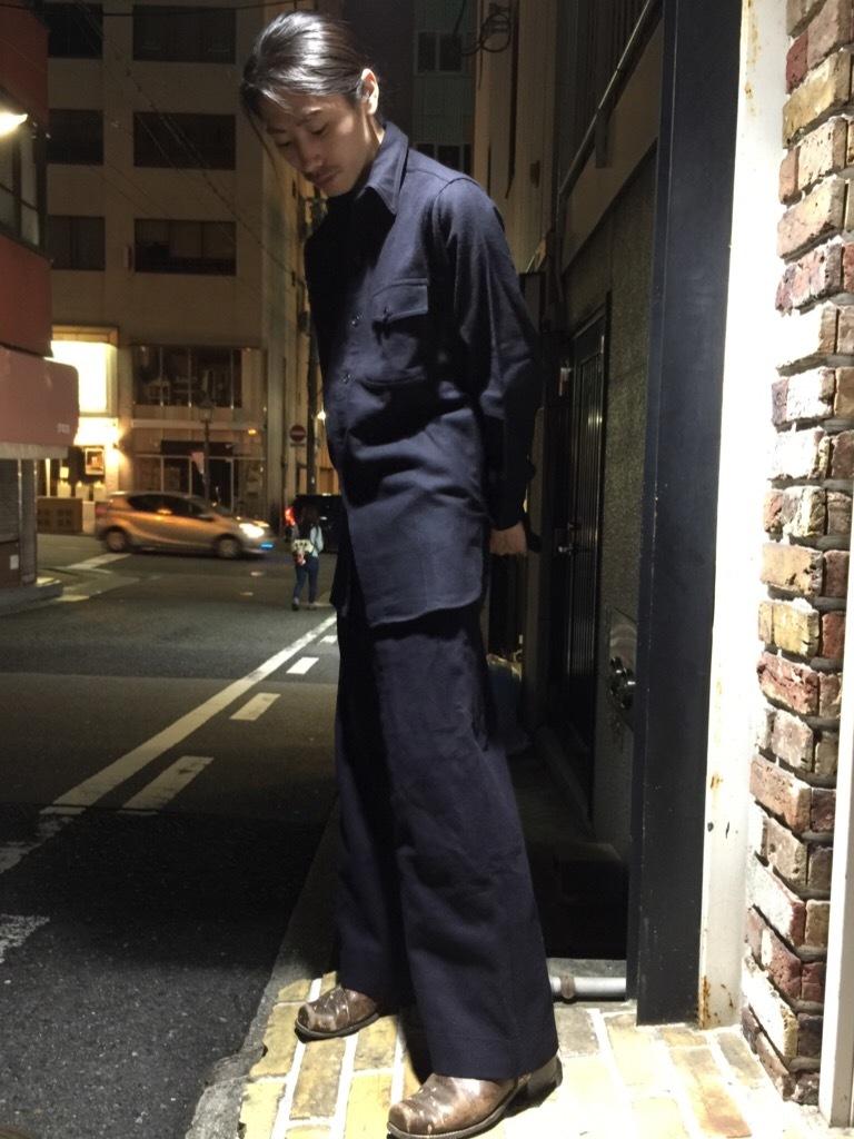神戸店9/27(水)冬ヴィンテージ入荷! #3  US.Navy Part1!  MidNight Color Wool Item!!!_c0078587_23414144.jpg
