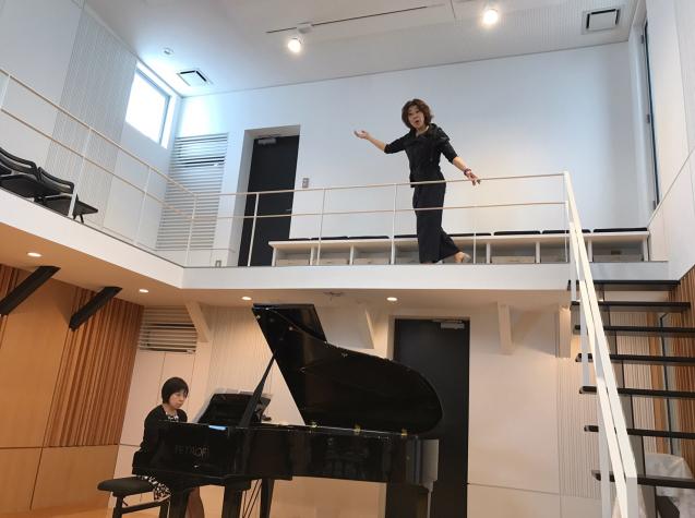 オペラ「電話」 in Sala MASAKA リハーサル_f0144003_10572275.jpg