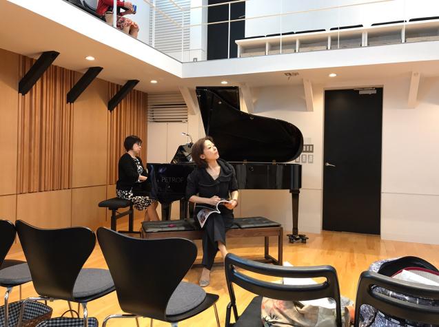 オペラ「電話」 in Sala MASAKA リハーサル_f0144003_10572717.jpg