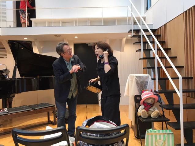 オペラ「電話」 in Sala MASAKA リハーサル_f0144003_10574711.jpg