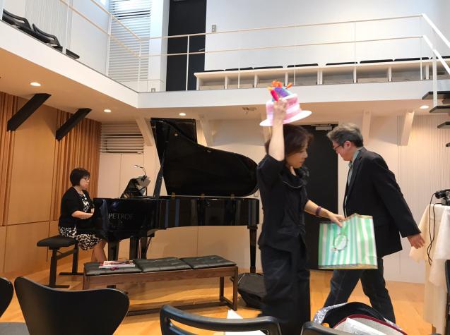 オペラ「電話」 in Sala MASAKA リハーサル_f0144003_10575001.jpg