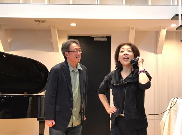 オペラ「電話」 in Sala MASAKA リハーサル_f0144003_10581962.jpg