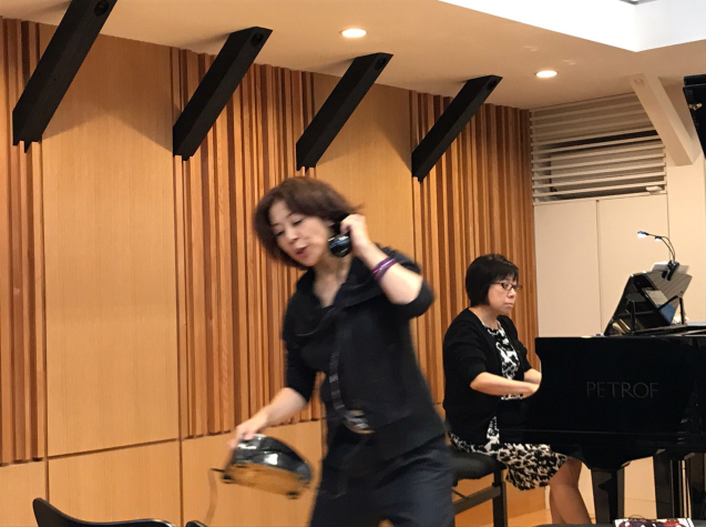 オペラ「電話」 in Sala MASAKA リハーサル_f0144003_10582221.jpg