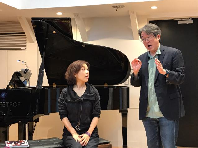オペラ「電話」 in Sala MASAKA リハーサル_f0144003_10582548.jpg