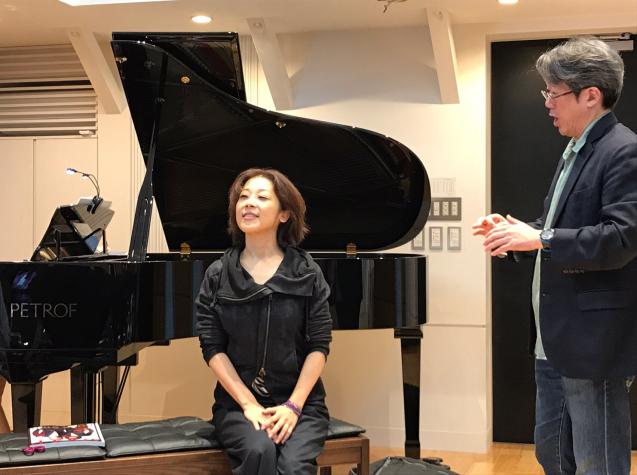 オペラ「電話」 in Sala MASAKA リハーサル_f0144003_10585650.jpg