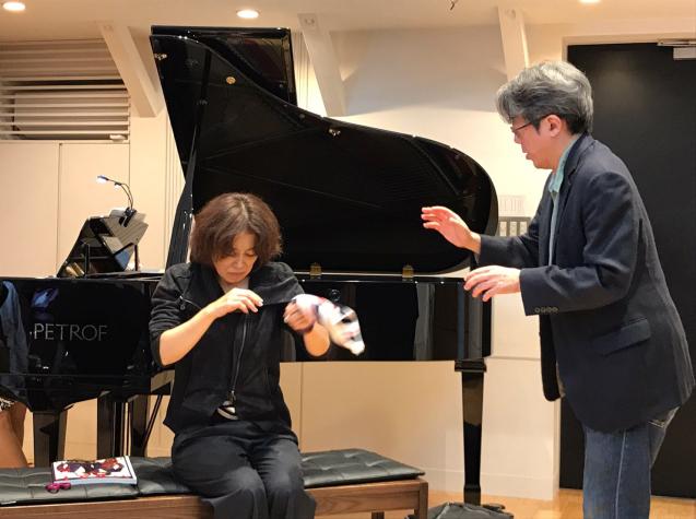 オペラ「電話」 in Sala MASAKA リハーサル_f0144003_10585797.jpg