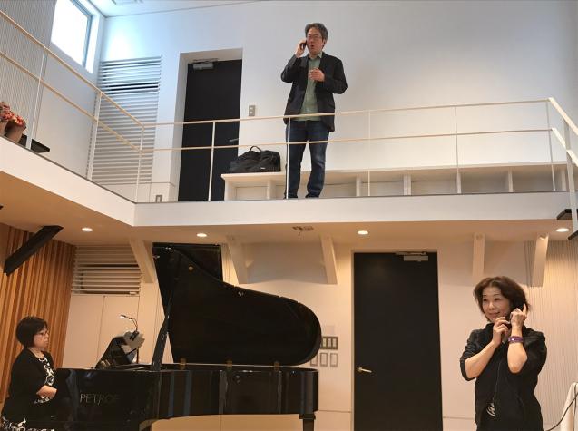 オペラ「電話」 in Sala MASAKA リハーサル_f0144003_10585963.jpg