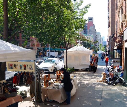 芸術の秋のNY、ワシントン・スクエア・アウトドア・アート展 Washington Square Outdoor Art Exhibit_b0007805_18573756.jpg