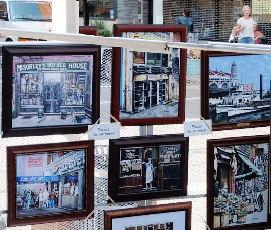 芸術の秋のNY、ワシントン・スクエア・アウトドア・アート展 Washington Square Outdoor Art Exhibit_b0007805_18581191.jpg