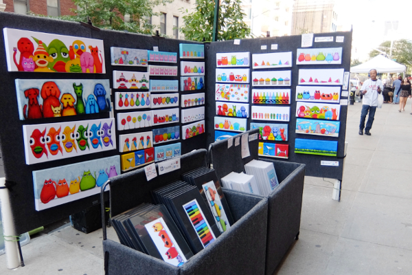 芸術の秋のNY、ワシントン・スクエア・アウトドア・アート展 Washington Square Outdoor Art Exhibit_b0007805_18584645.jpg