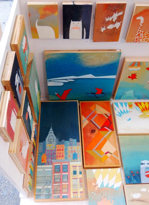 芸術の秋のNY、ワシントン・スクエア・アウトドア・アート展 Washington Square Outdoor Art Exhibit_b0007805_1905089.jpg