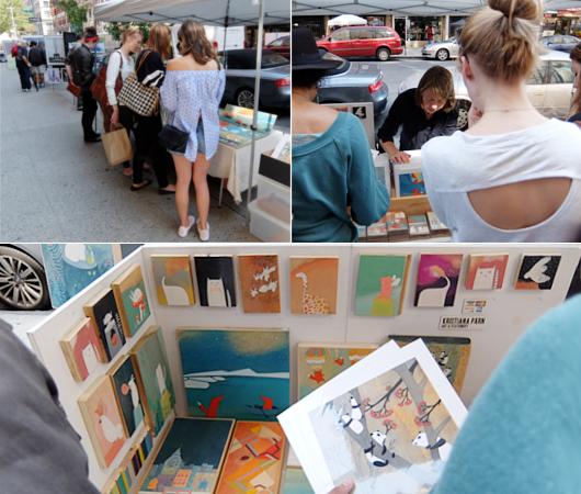 芸術の秋のNY、ワシントン・スクエア・アウトドア・アート展 Washington Square Outdoor Art Exhibit_b0007805_19213993.jpg