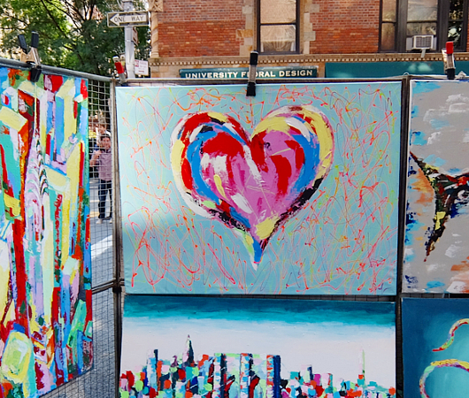 芸術の秋のNY、ワシントン・スクエア・アウトドア・アート展 Washington Square Outdoor Art Exhibit_b0007805_1922818.jpg