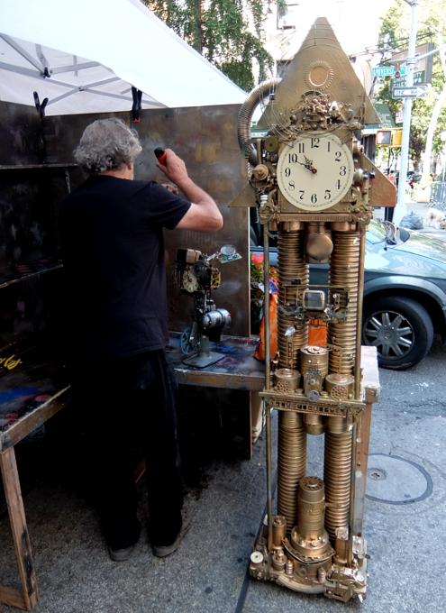 芸術の秋のNY、ワシントン・スクエア・アウトドア・アート展 Washington Square Outdoor Art Exhibit_b0007805_195506.jpg