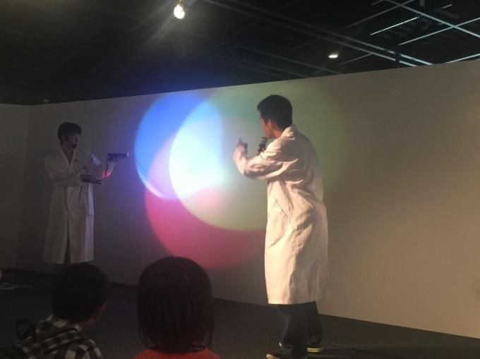 2017/09/17ひかりのショー@三菱みなとみらい技術館_f0240709_20261372.jpg