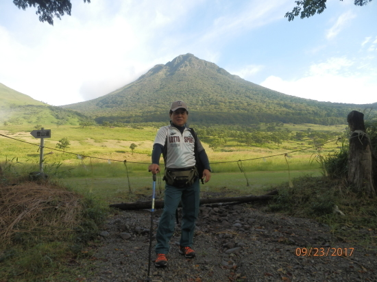 由布岳に登る H29.9.23(標高・1584メートル)_f0184133_09440149.jpg