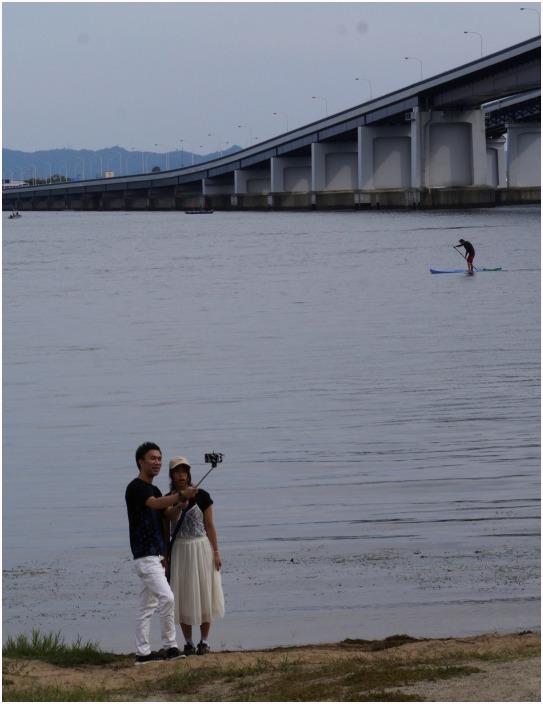 < 琵琶湖大橋 >_c0036080_12112962.jpg