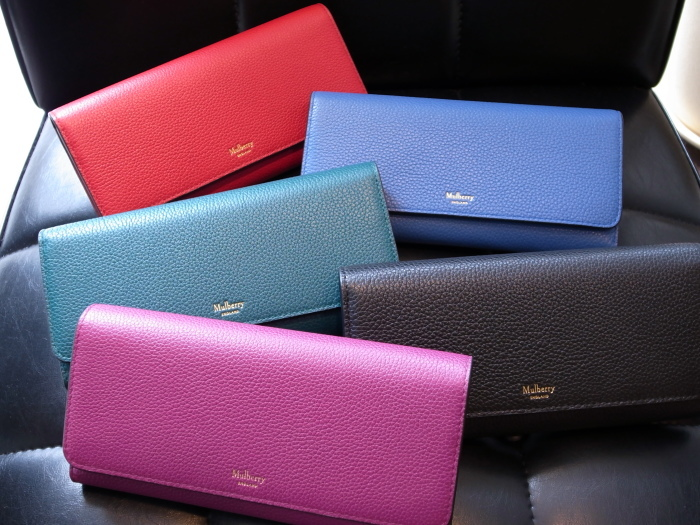 DETAIL MULBERRY ENGLAND CONTINENTAL WALLET SCARLET_f0111683_12584518.jpg