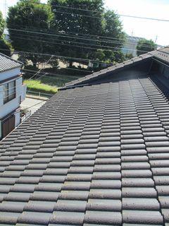 東京都の小平で、屋根修理中に・・・。_c0223192_21505785.jpg