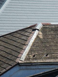 東京都の小平で、屋根修理中に・・・。_c0223192_21510878.jpg