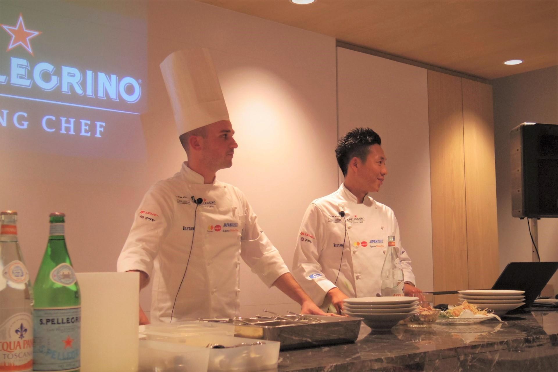 「サンペレグリノ ヤングシェフ」優秀若手シェフの創作性あふれる料理をポップアップレストランで_b0354293_15175085.jpg
