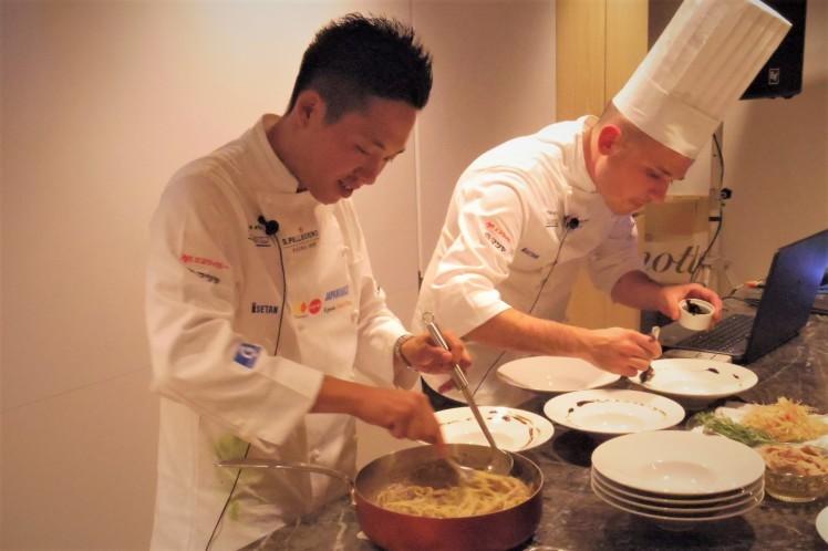 「サンペレグリノ ヤングシェフ」優秀若手シェフの創作性あふれる料理をポップアップレストランで_b0354293_15192990.jpg