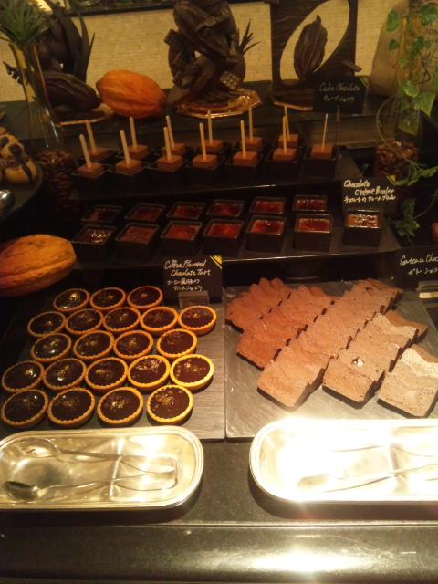 ウェスティンホテル東京 ザ・テラス ワールドチョコレート・デザートブッフェ~第2章~_f0076001_0102268.jpg
