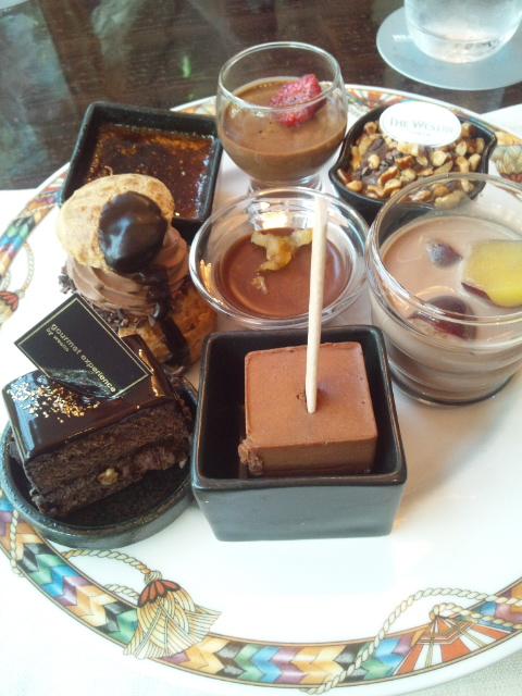 ウェスティンホテル東京 ザ・テラス ワールドチョコレート・デザートブッフェ~第2章~_f0076001_0131982.jpg