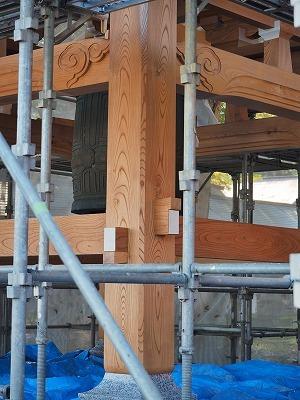 鐘楼の建て替え_c0336902_17515499.jpg