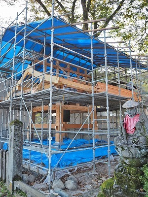 鐘楼の建て替え_c0336902_17515886.jpg